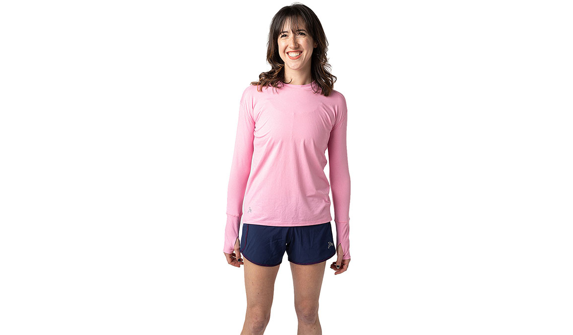 Women's Jackrabbit Long Sleeve - Color: Rose Pink Size: XS, Red, large, image 1