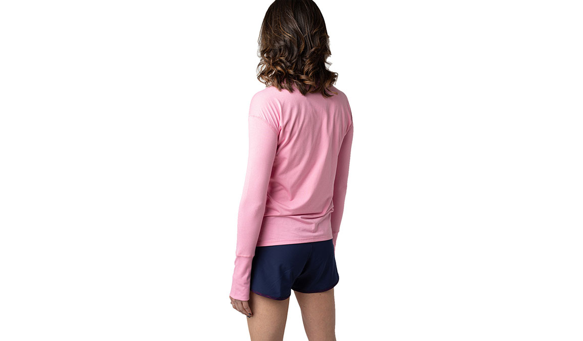 Women's Jackrabbit Long Sleeve - Color: Rose Pink Size: XS, Red, large, image 2