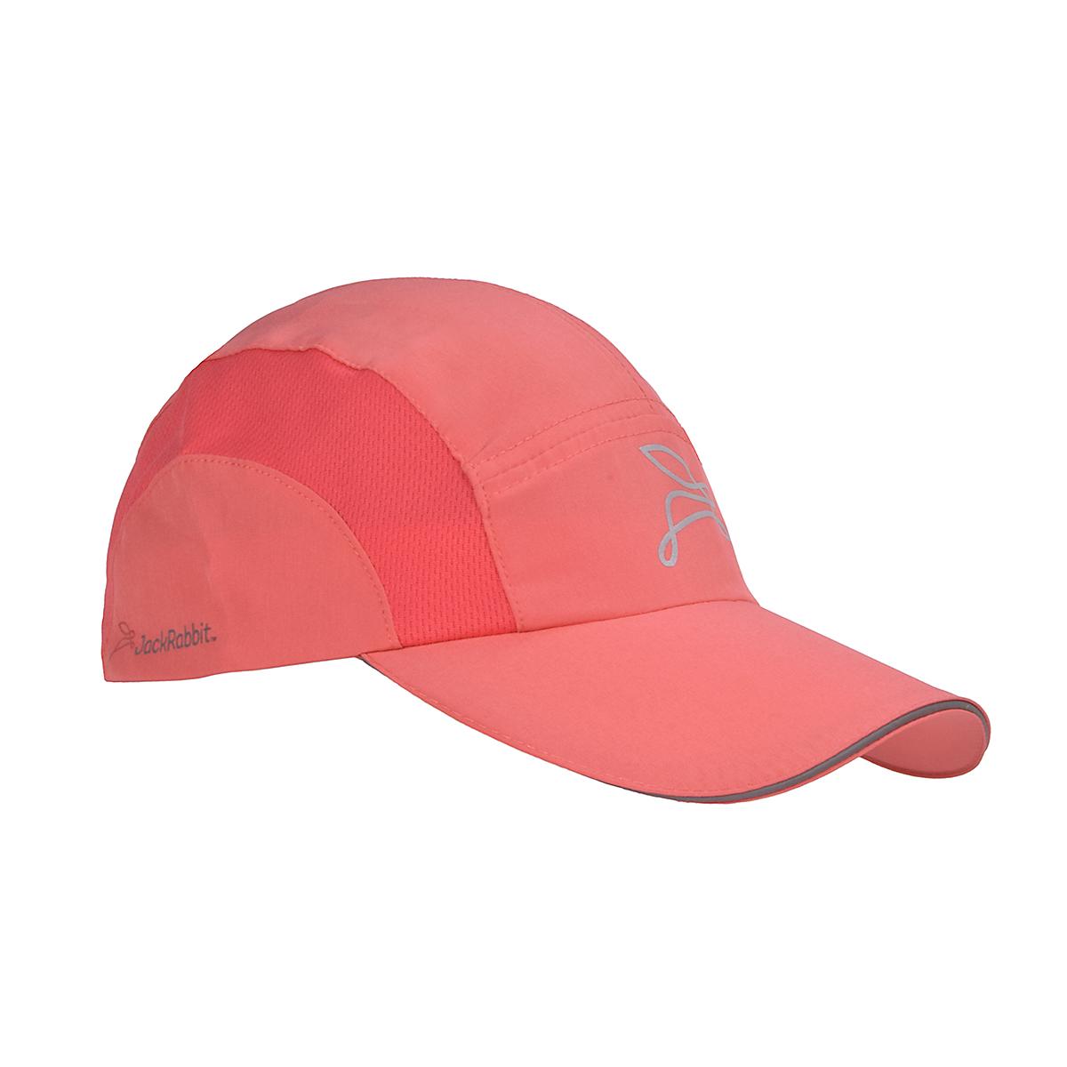 JackRabbit Run Hat - Color: Coral - Size: One Size, Coral, large, image 3