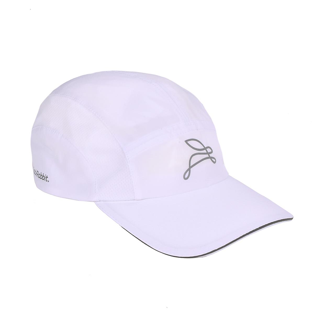 JackRabbit Run Hat - Color: White - Size: One Size, White, large, image 1
