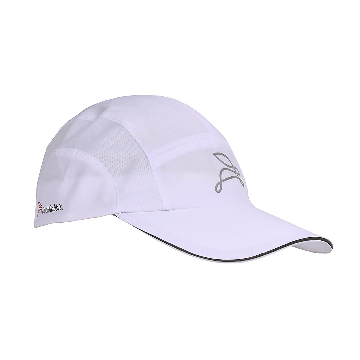 JackRabbit Run Hat - Color: White - Size: One Size, White, large, image 3