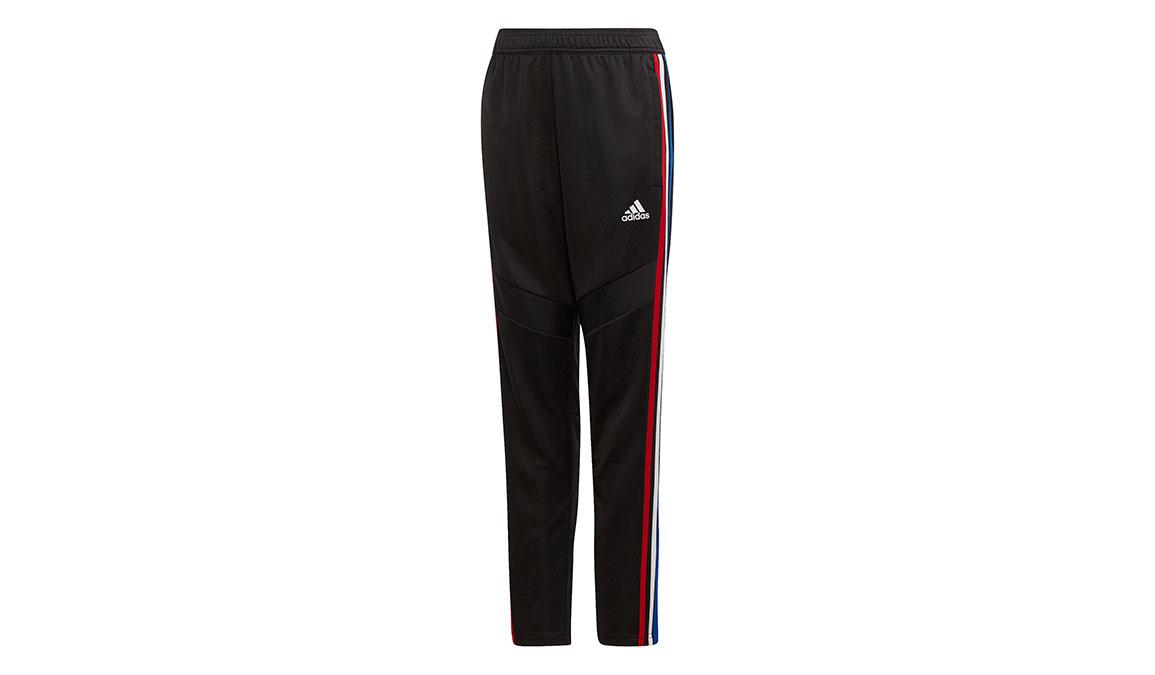 Kids Adidas Tiro 19 Training Pants - Color: Black/Power Red Size: XXS, Black/Power Red, large, image 1