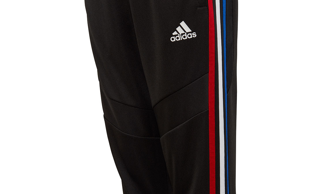 Kids Adidas Tiro 19 Training Pants - Color: Black/Power Red Size: XXS, Black/Power Red, large, image 2