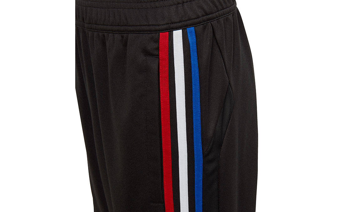 Kids Adidas Tiro 19 Training Pants - Color: Black/Power Red Size: XXS, Black/Power Red, large, image 3