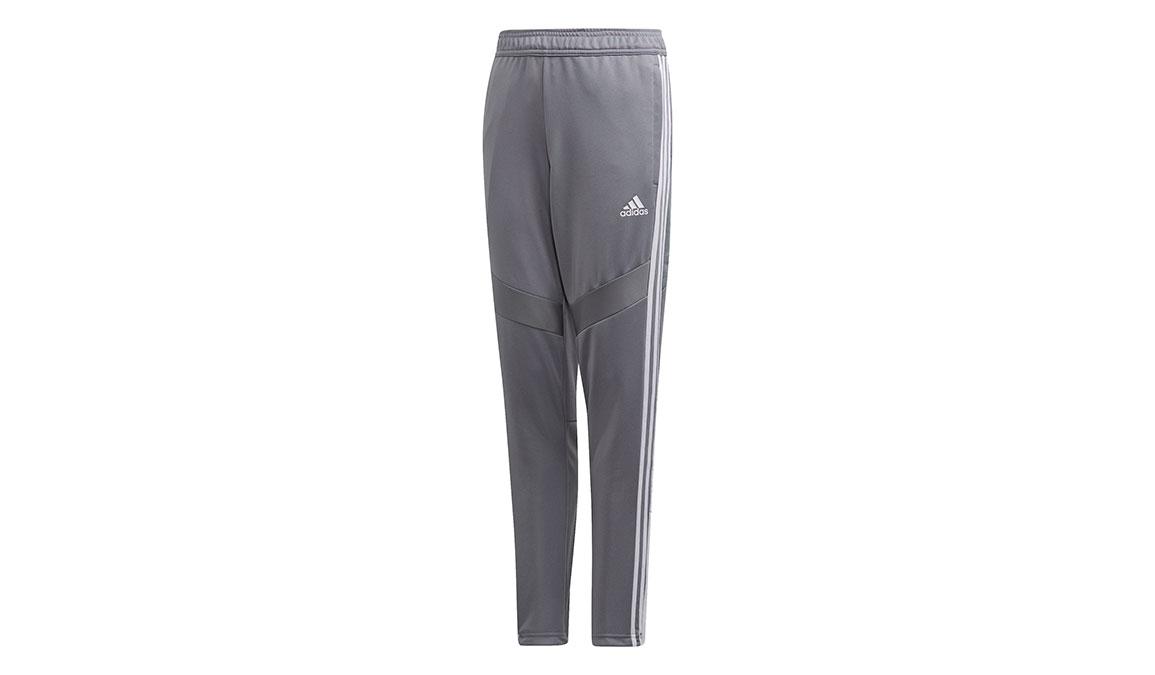 Kids Adidas Tiro 19 Training Pants - Color: Grey/White Size: XXS, Grey/White, large, image 1