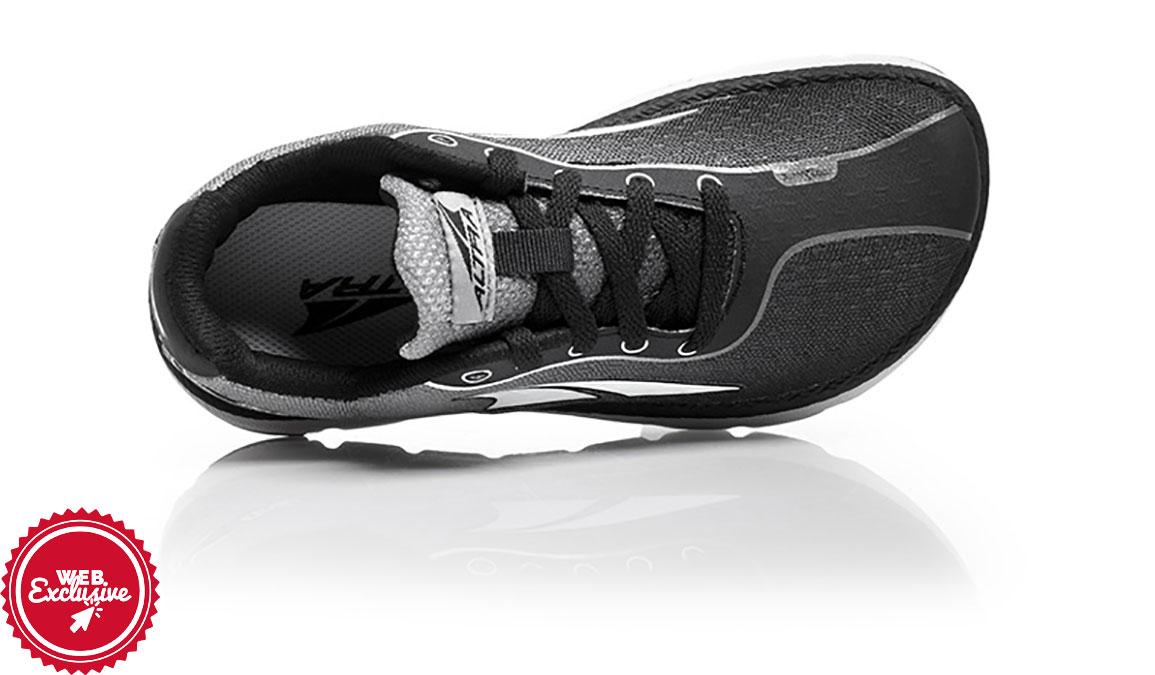 Kid's Altra One Jr Running Shoe - Color: Black (Regular Width) - Size: 1, Black, large, image 3