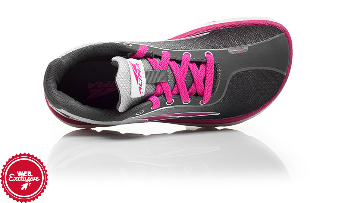 Kid's Altra One Jr Running Shoe - Color: Raspberry (Regular Width) - Size: 1, Raspberry, large, image 3