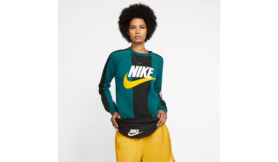 Nike Heritage Hip Pack - Color: Black/White Size: OS, Black/White, large, image 1