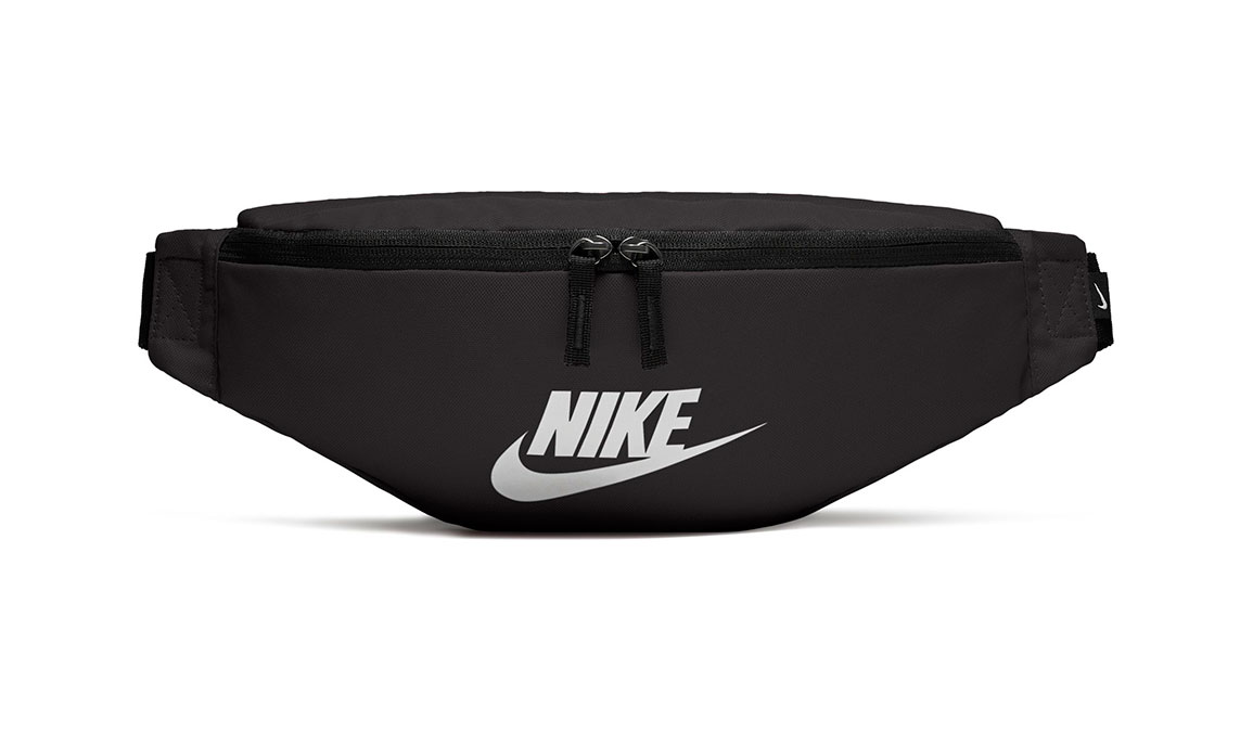 Nike Heritage Hip Pack - Color: Black/White Size: OS, Black/White, large, image 3