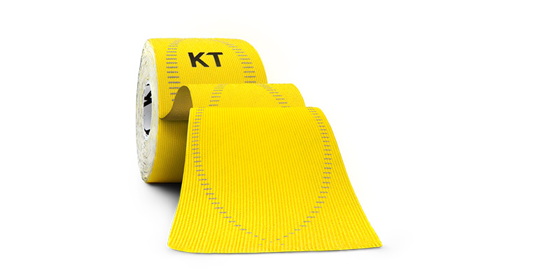 KT TAPE PRO Elastic Athletic Tape - 20 Strips - Color: Solar Yellow - Size: One Size, Yellow, large, image 1