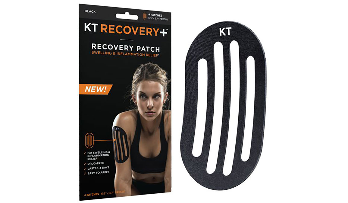 KT Tape Recovery Patch - Color: Black Size: NS, Black, large, image 1