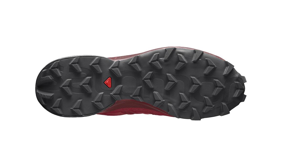 Men's Salomon Speedcross 5 Trail Running Shoe - Color: Barbados Cherry/Black/Red Dahlia (Regular Width) - Size: 7, Red, large, image 2