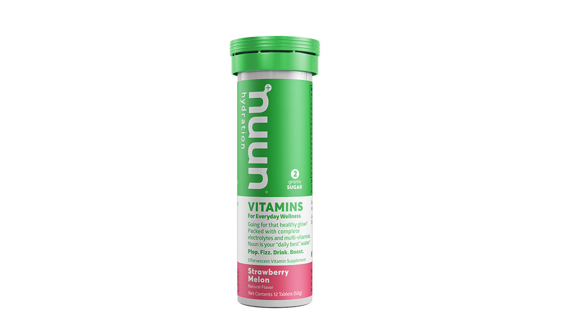 Nuun Vitamins Drink Tablets - Flavor: Strawberry Melon - Size: Box of 8, Strawberry Melon, large, image 1