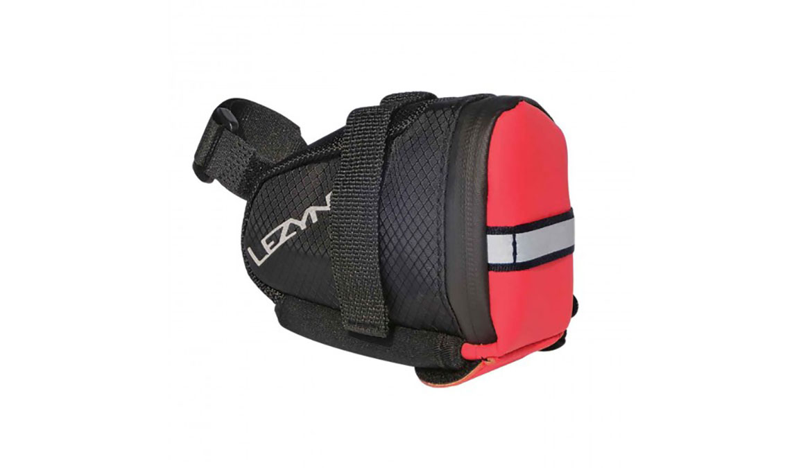 Lezyne Caddy Saddle Bag - Color: Red/Black Size: Medium - CT, Red/Black, large, image 1