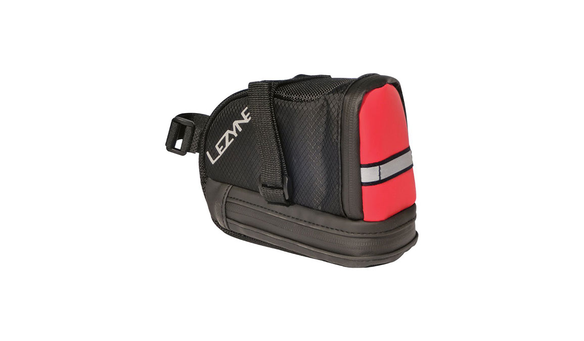 Lezyne L-Caddy Seat Bag - Color: Red/Black Size: OS - CT, Red/Black, large, image 1