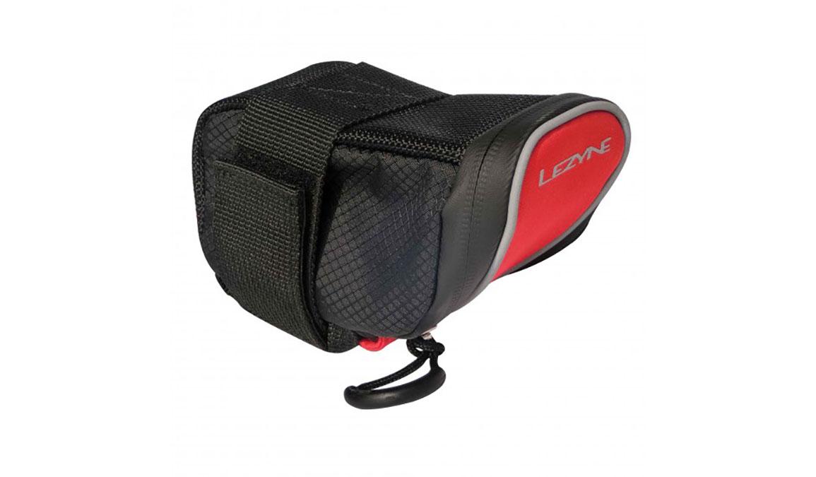 Lezyne Micro Caddy Saddle Bag - Color: Red/Black Size: Medium - CT, Red/Black, large, image 1