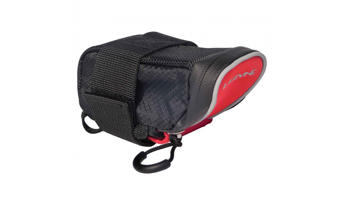 Lezyne Micro Caddy Saddle Bag  - Color: Red/Black Size: Medium - CT, Red/Black, large, image 1