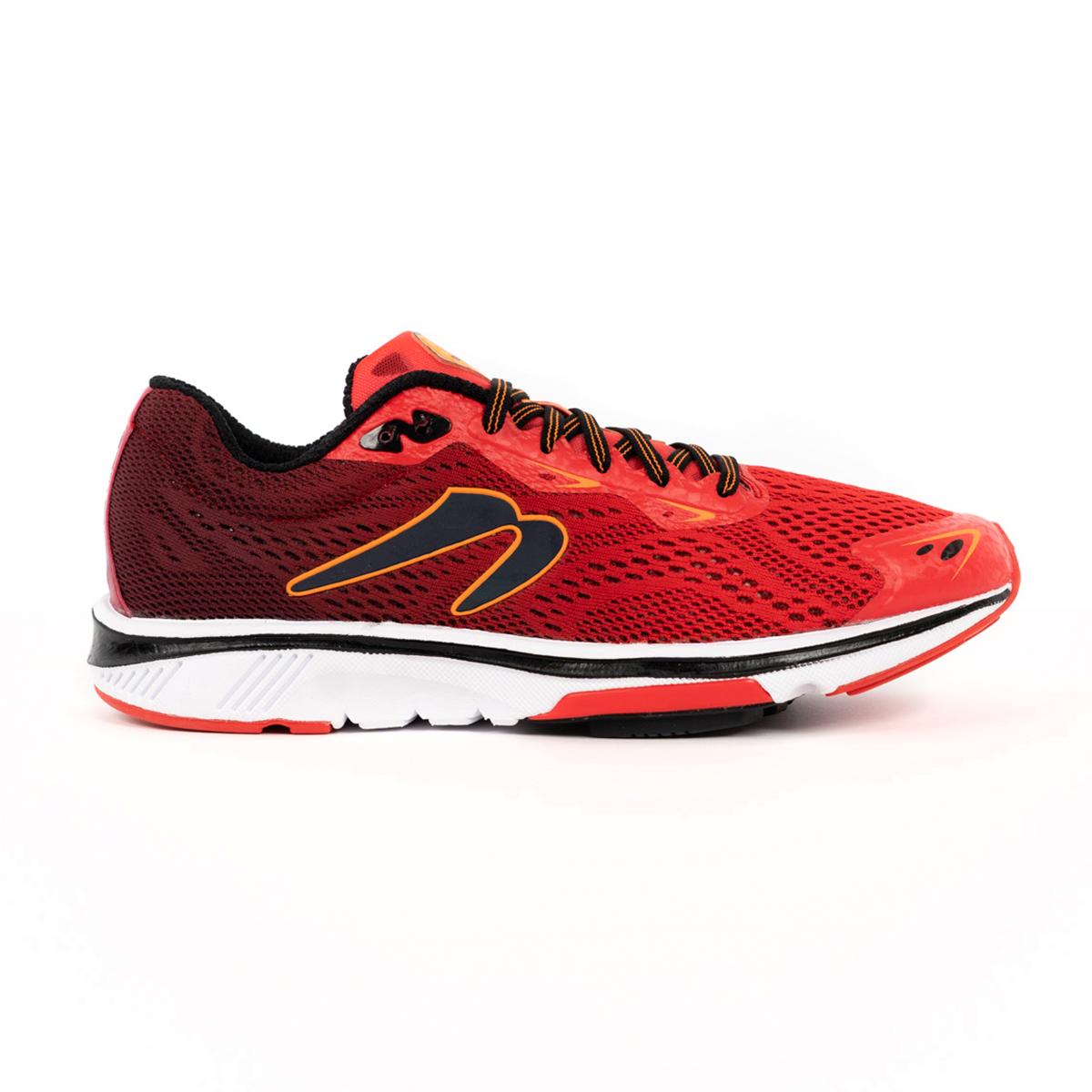 Men's Newton Motion 9 Running Shoe - Color: Brick/Orange (Regular Width) - Size: 6, Brick/Orange, large, image 1