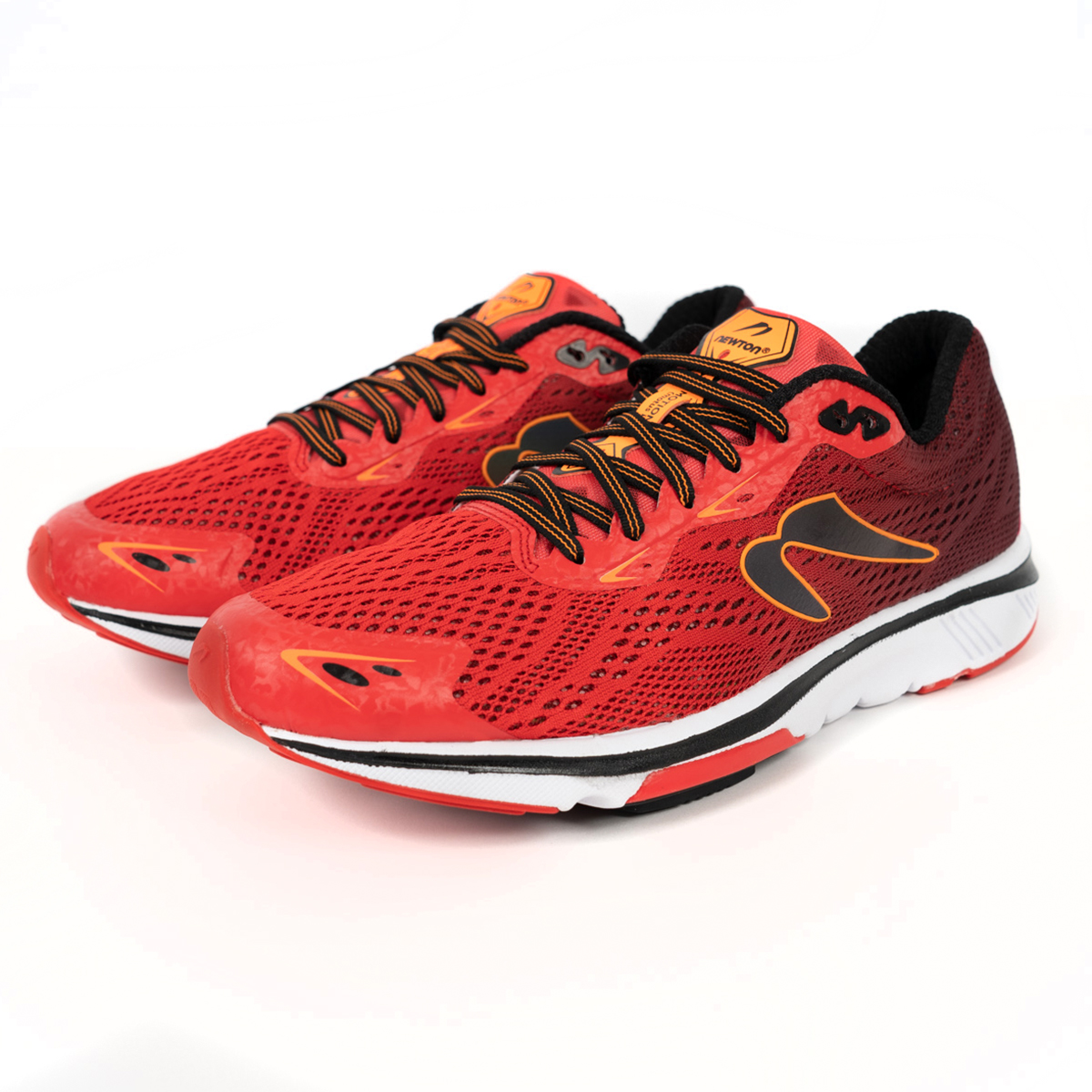 Men's Newton Motion 9 Running Shoe - Color: Brick/Orange (Regular Width) - Size: 6, Brick/Orange, large, image 3