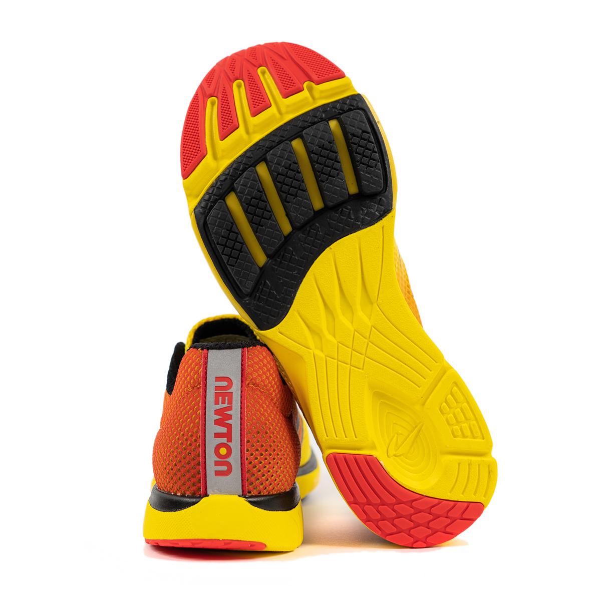 Men's Newton Distance 9 Running Shoe - Color: Sunfire/Black (Regular Width) - Size: 6, Sunfire/Black, large, image 2