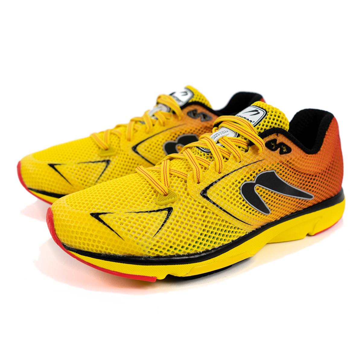 Men's Newton Distance 9 Running Shoe - Color: Sunfire/Black (Regular Width) - Size: 6, Sunfire/Black, large, image 3