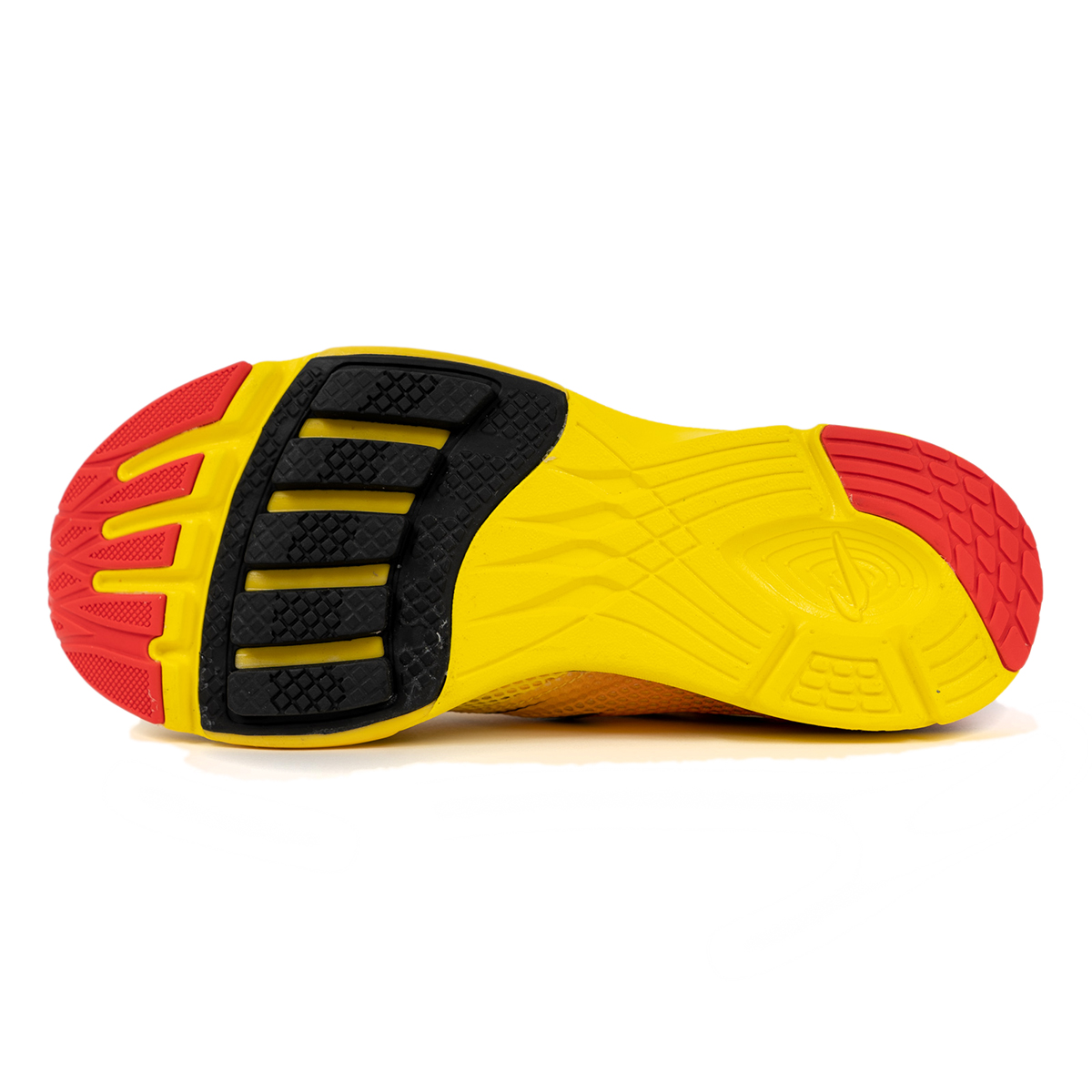 Men's Newton Distance 9 Running Shoe - Color: Sunfire/Black (Regular Width) - Size: 6, Sunfire/Black, large, image 4