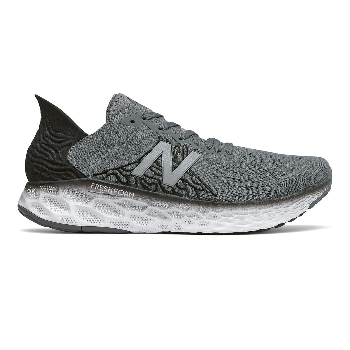Men's New Balance Fresh Foam 1080v10 Running Shoe - Color: Lead - Size: 7 - Width: Wide, Lead, large, image 1