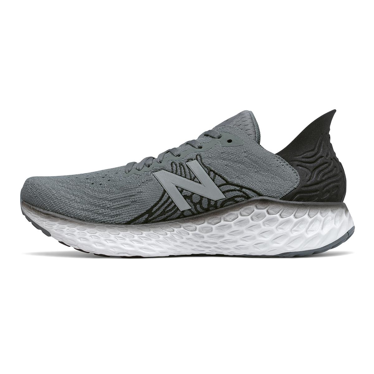 Men's New Balance Fresh Foam 1080v10 Running Shoe - Color: Lead - Size: 7 - Width: Wide, Lead, large, image 2