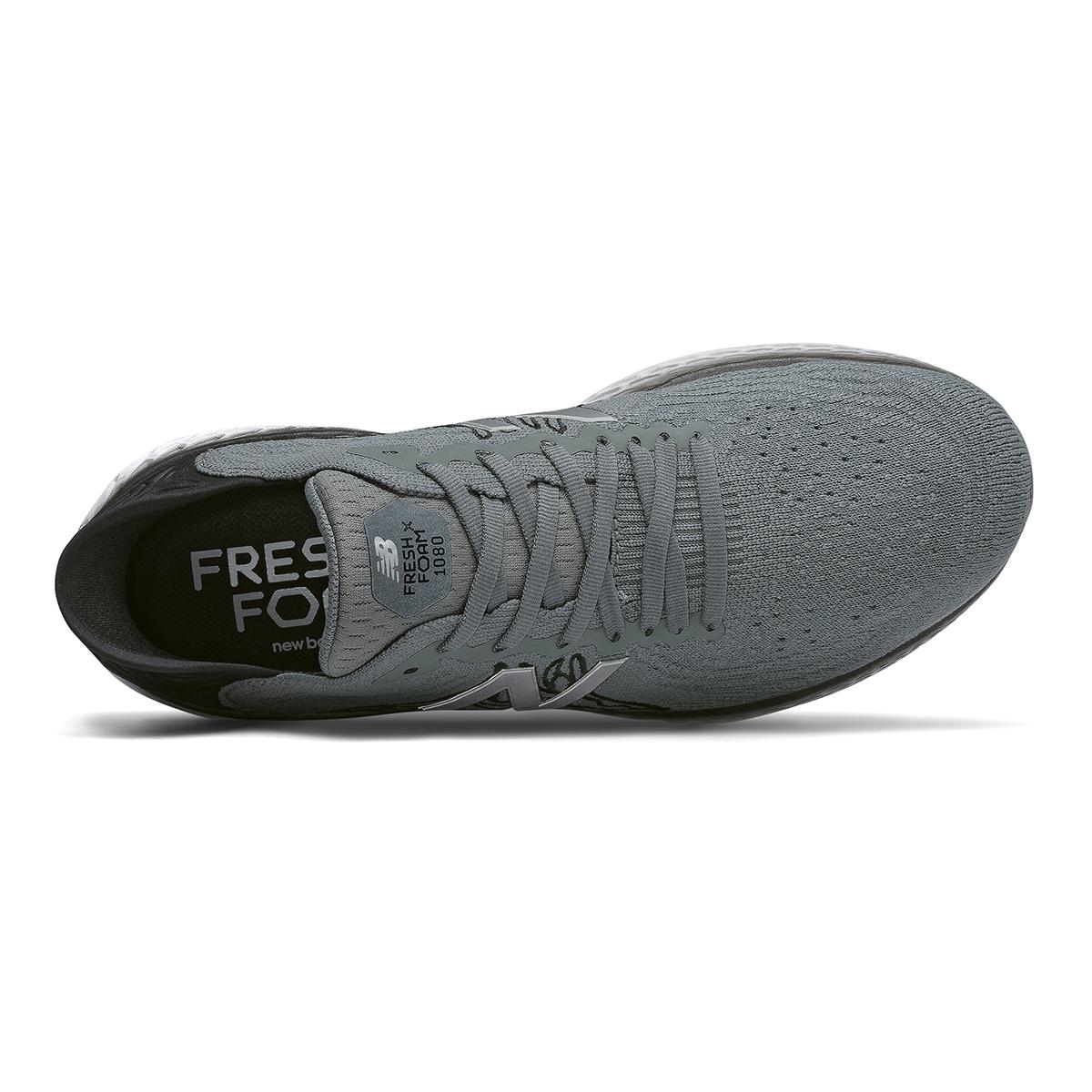 Men's New Balance Fresh Foam 1080v10 Running Shoe - Color: Lead - Size: 7 - Width: Wide, Lead, large, image 3