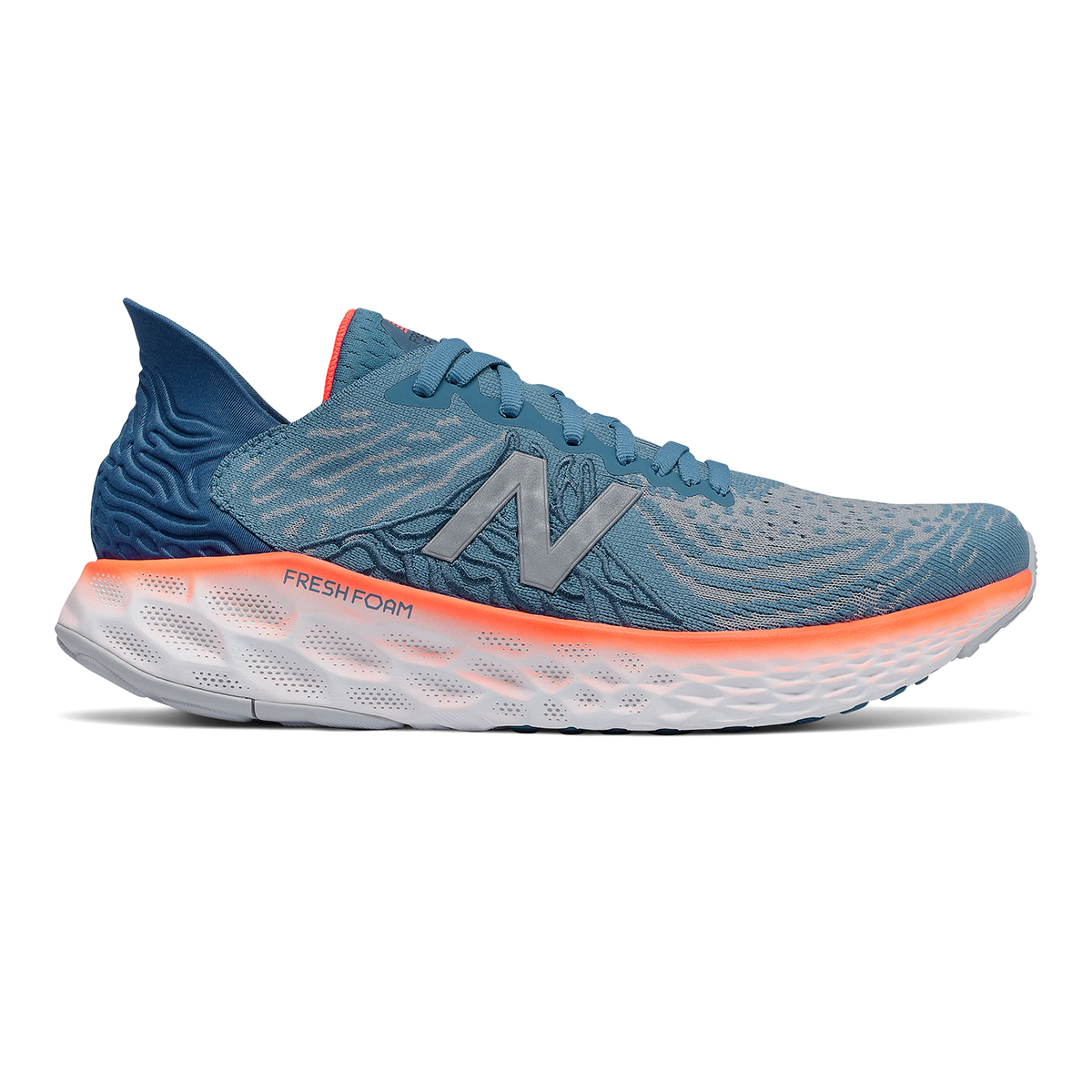 Men's New Balance Fresh Foam 1080v10 Running Shoe - Color: Light Blue - Size: 7 - Width: Regular, Light Blue, large, image 1