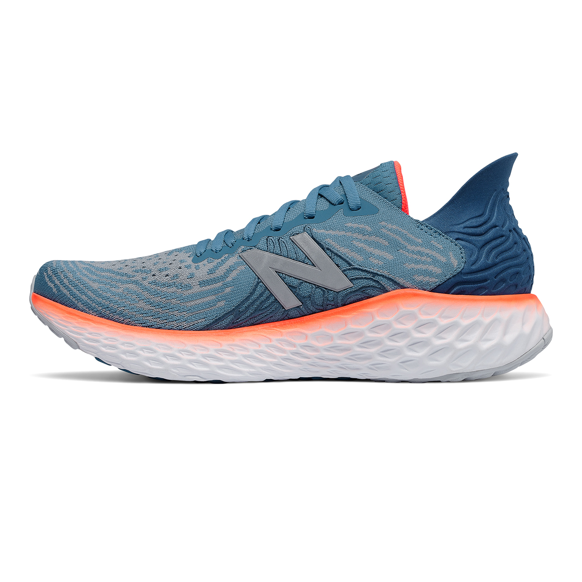 Men's New Balance Fresh Foam 1080v10 Running Shoe - Color: Light Blue - Size: 7 - Width: Regular, Light Blue, large, image 2
