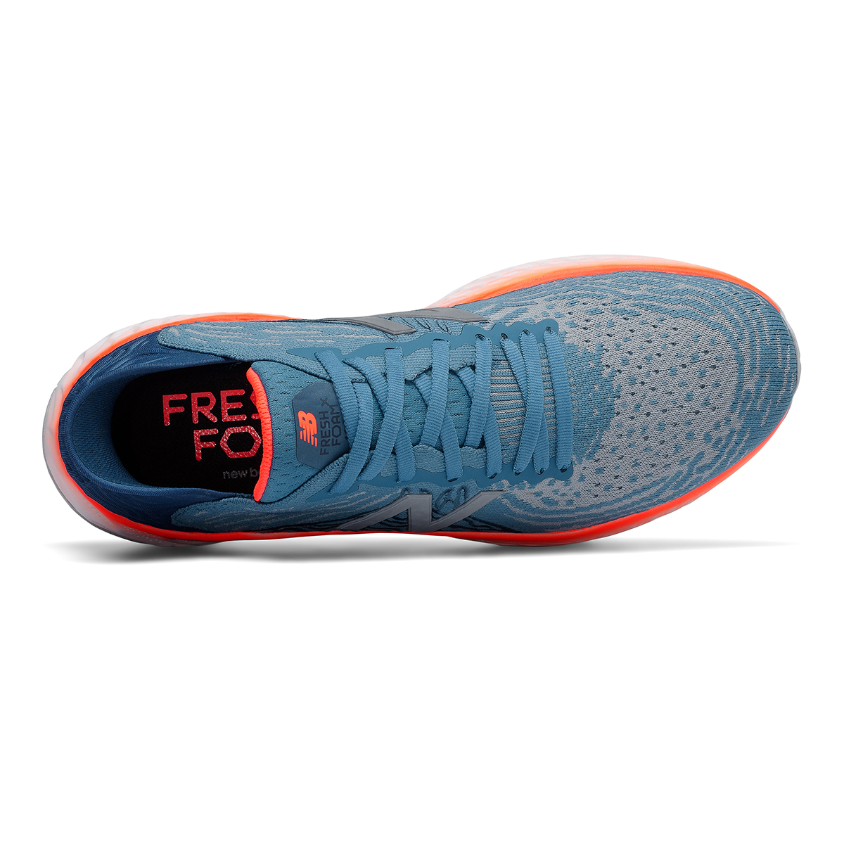 Men's New Balance Fresh Foam 1080v10 Running Shoe - Color: Light Blue - Size: 7 - Width: Regular, Light Blue, large, image 3