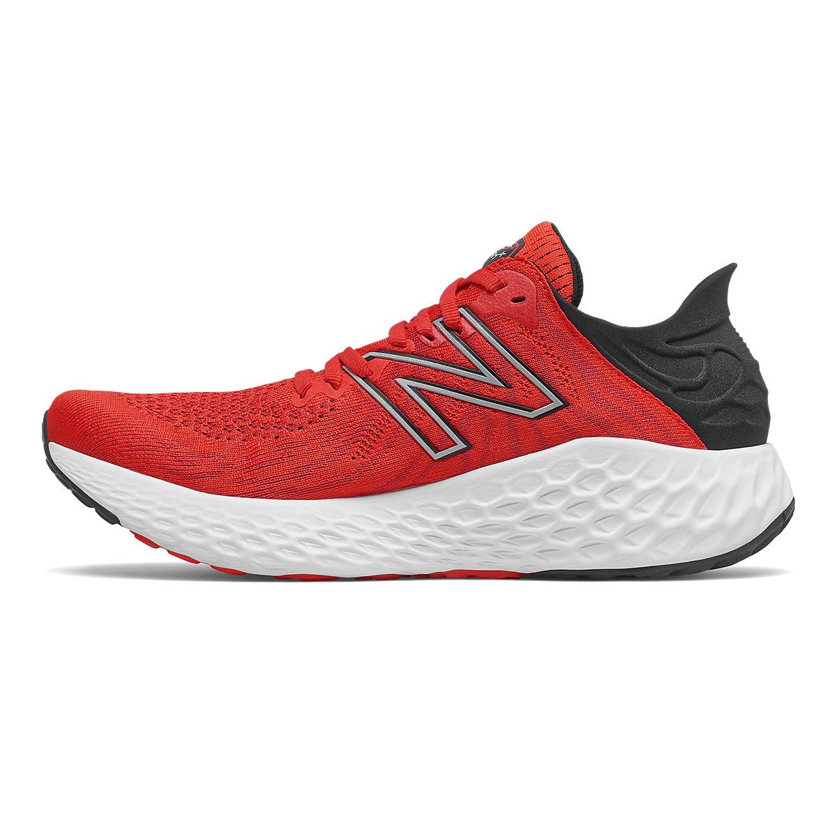 Men's New Balance 1080v11 Running Shoe - Color: Velocity Red/Black - Size: 7 - Width: Wide, Velocity Red/Black, large, image 2