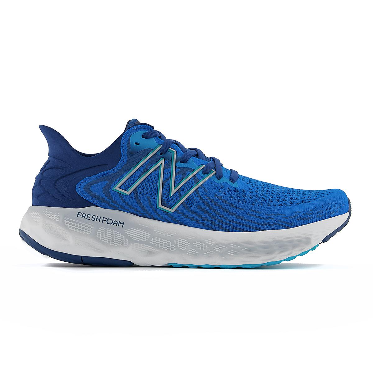 Men's New Balance Fresh Foam 1080v11 Running Shoe - Color: Wave/Light Rogue Wave - Size: 6 - Width: Wide, Wave/Light Rogue Wave, large, image 1
