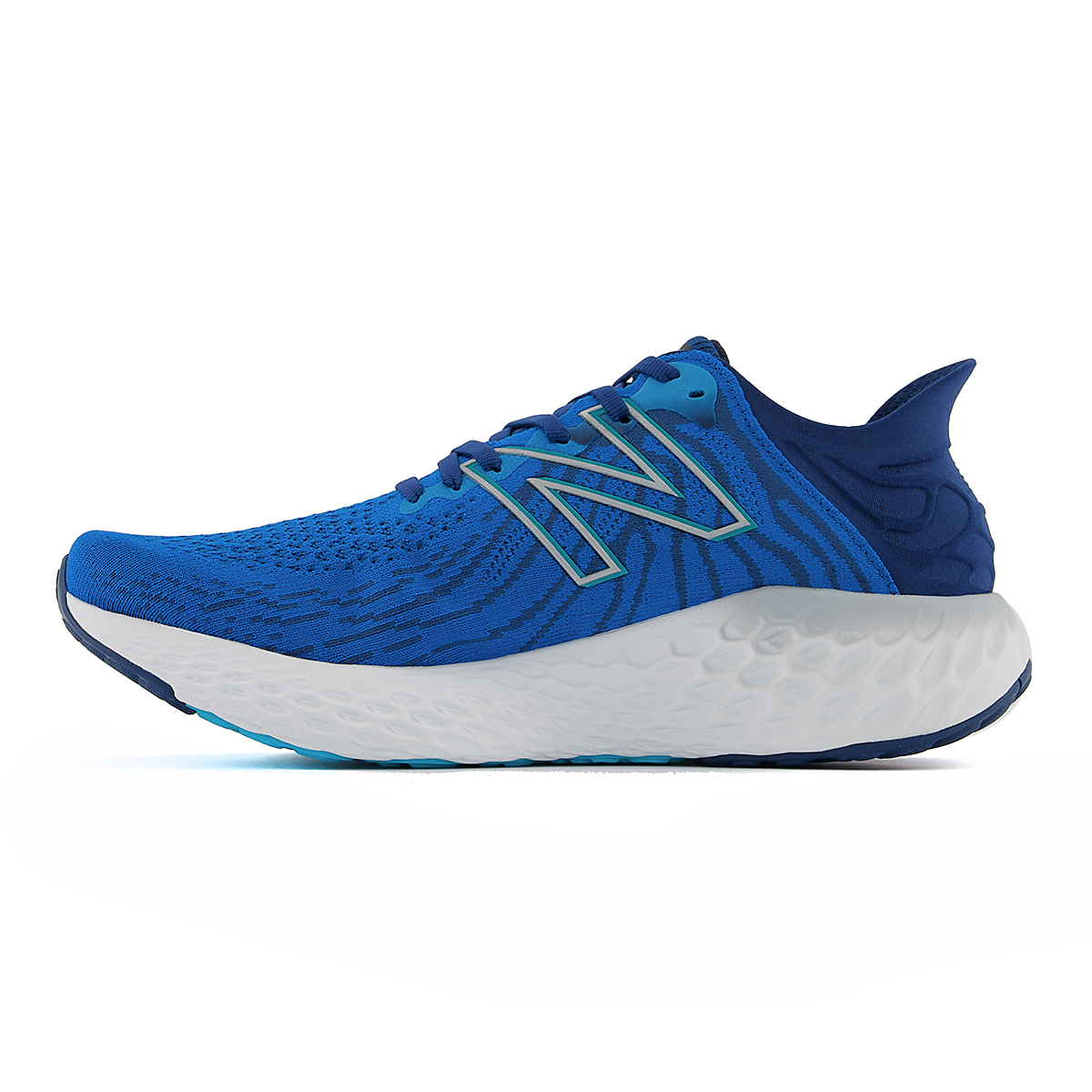 Men's New Balance Fresh Foam 1080v11 Running Shoe - Color: Wave/Light Rogue Wave - Size: 6 - Width: Wide, Wave/Light Rogue Wave, large, image 2