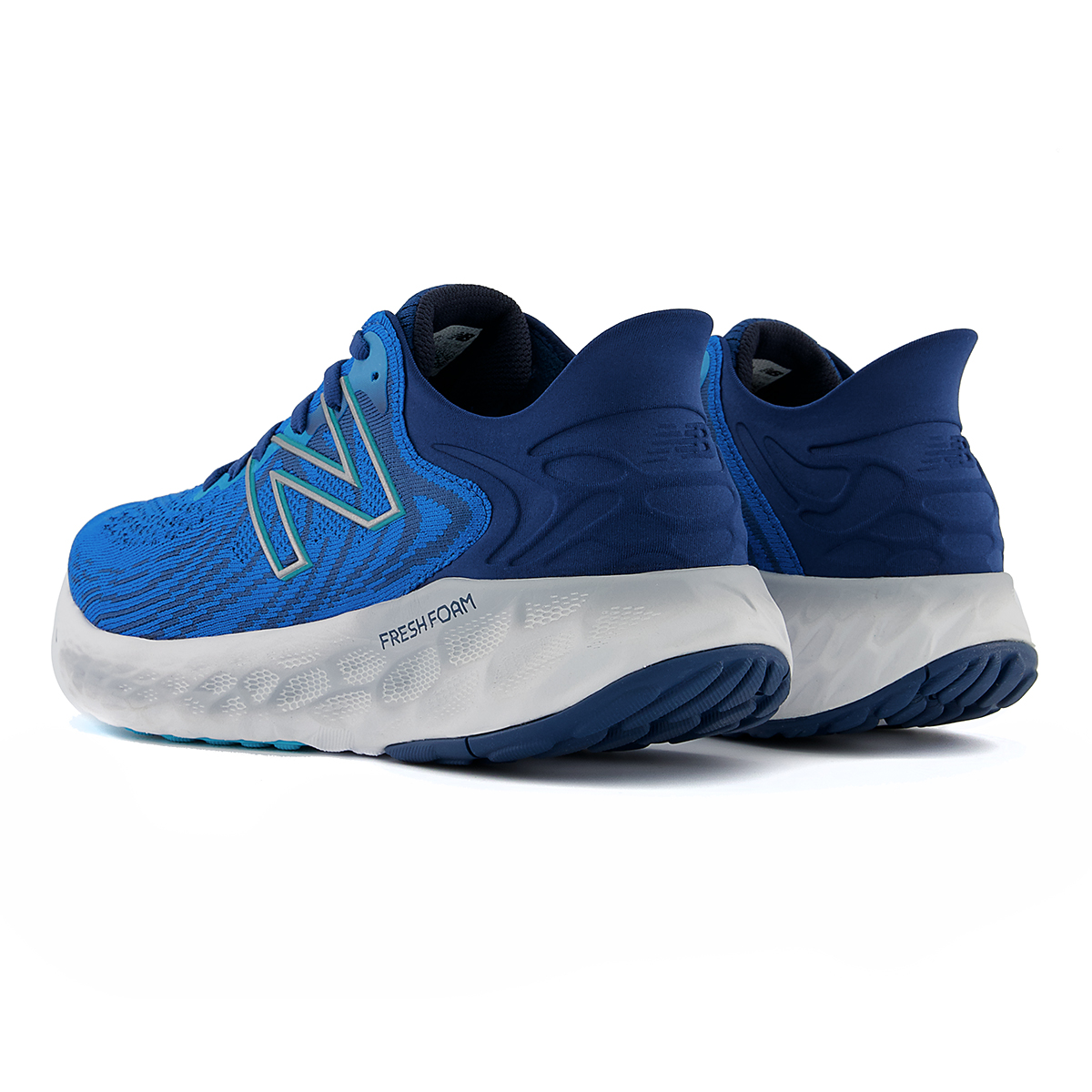 Men's New Balance Fresh Foam 1080v11 Running Shoe - Color: Wave/Light Rogue Wave - Size: 6 - Width: Wide, Wave/Light Rogue Wave, large, image 4
