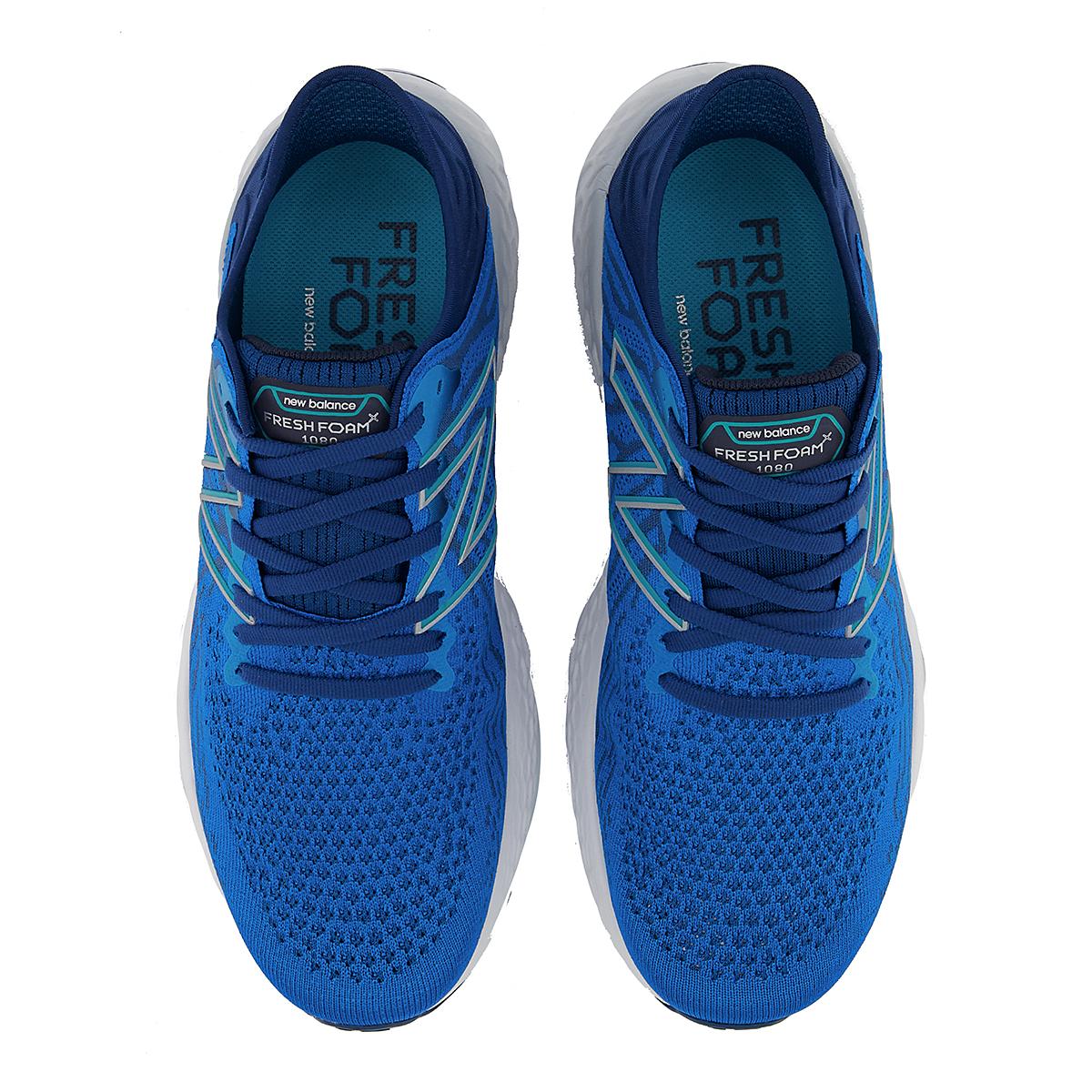 Men's New Balance Fresh Foam 1080v11 Running Shoe - Color: Wave/Light Rogue Wave - Size: 6 - Width: Wide, Wave/Light Rogue Wave, large, image 5