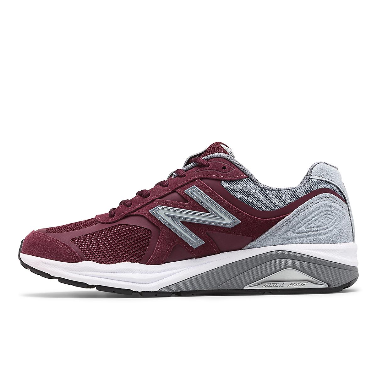 Men's New Balance 1540V3 Walking Shoe - Color: Burgundy - Size: 7 - Width: Wide, Burgundy, large, image 2