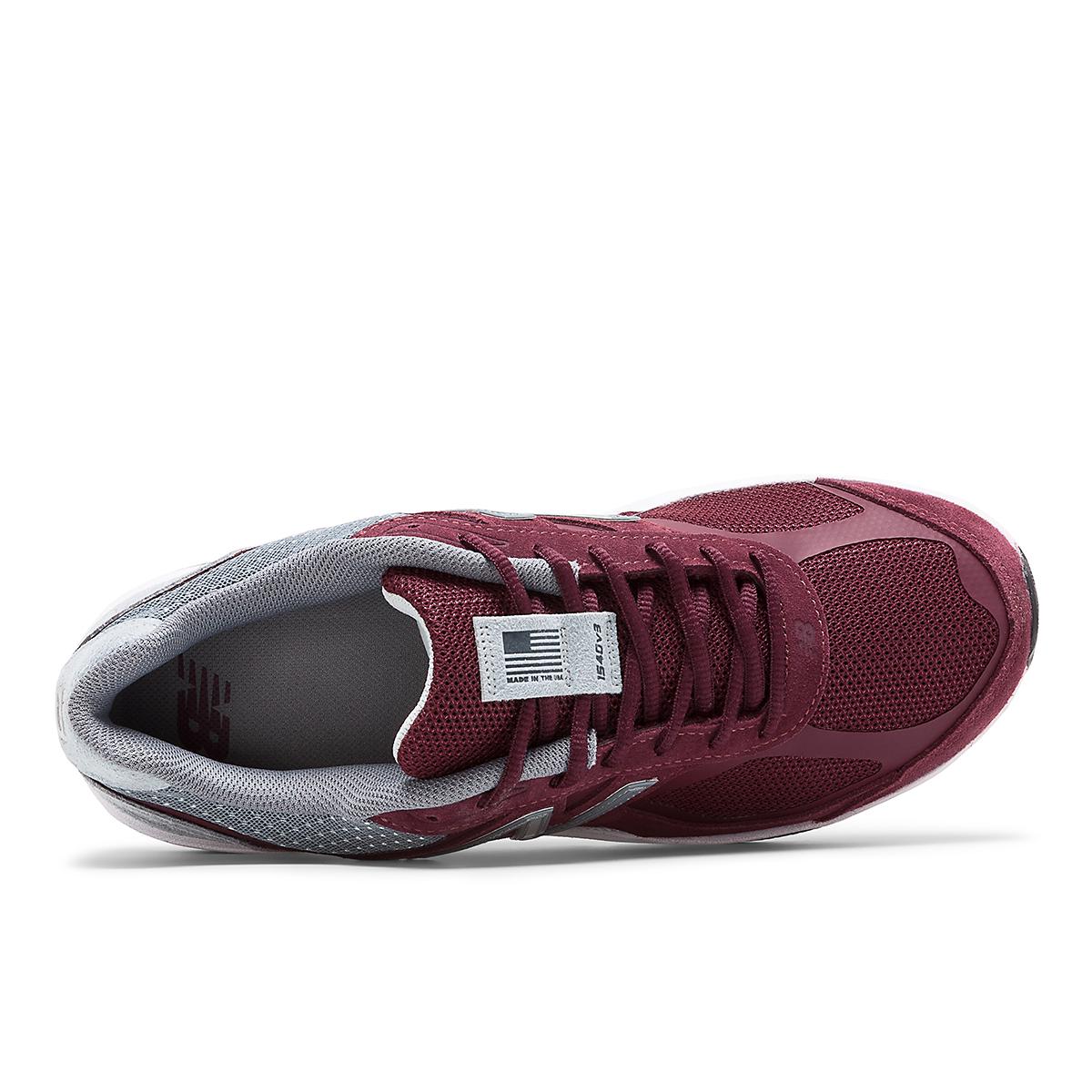 Men's New Balance 1540V3 Walking Shoe - Color: Burgundy - Size: 7 - Width: Wide, Burgundy, large, image 3