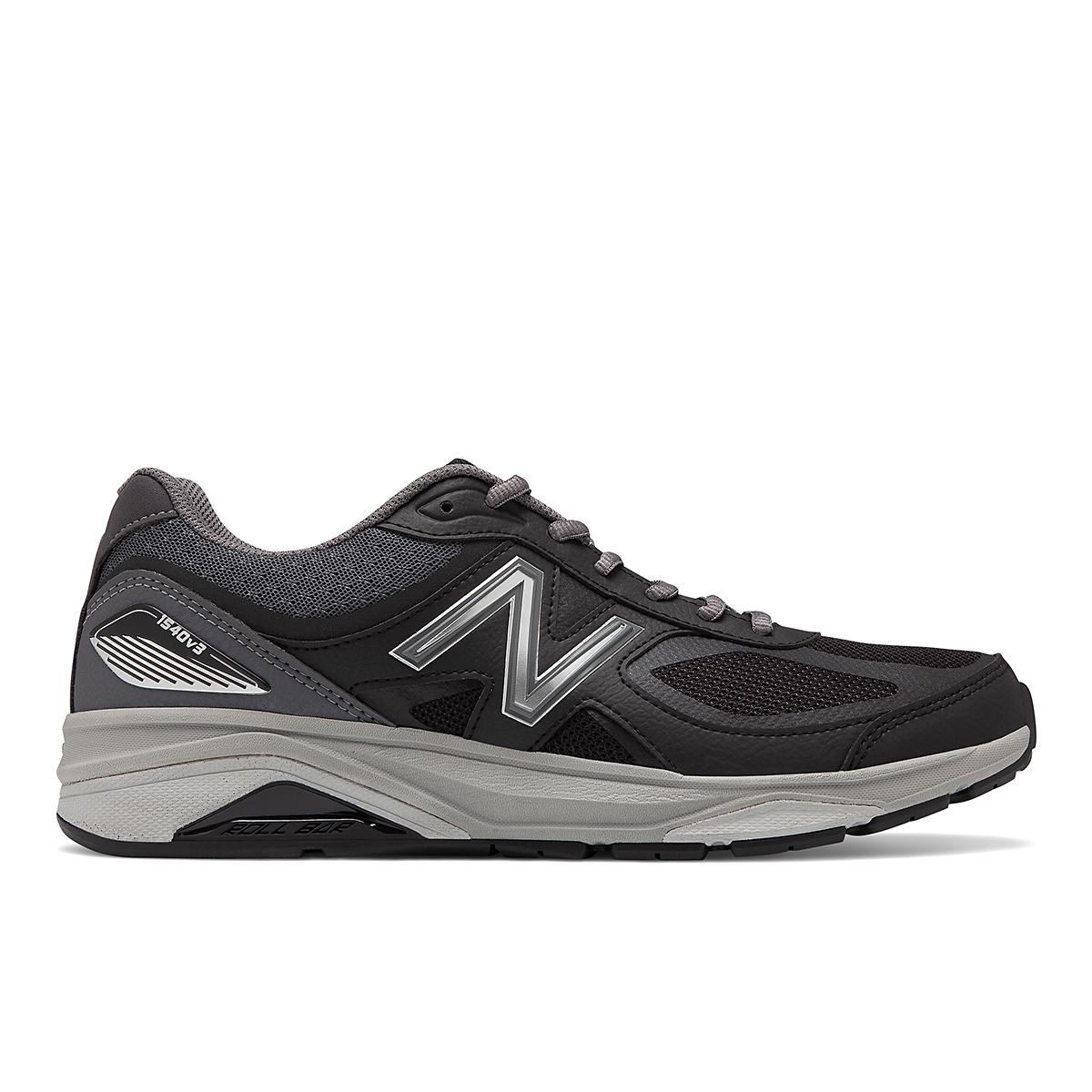 Men's New Balance 1540V3 Walking Shoe - Color: Black - Size: 7 - Width: Wide, Black, large, image 1