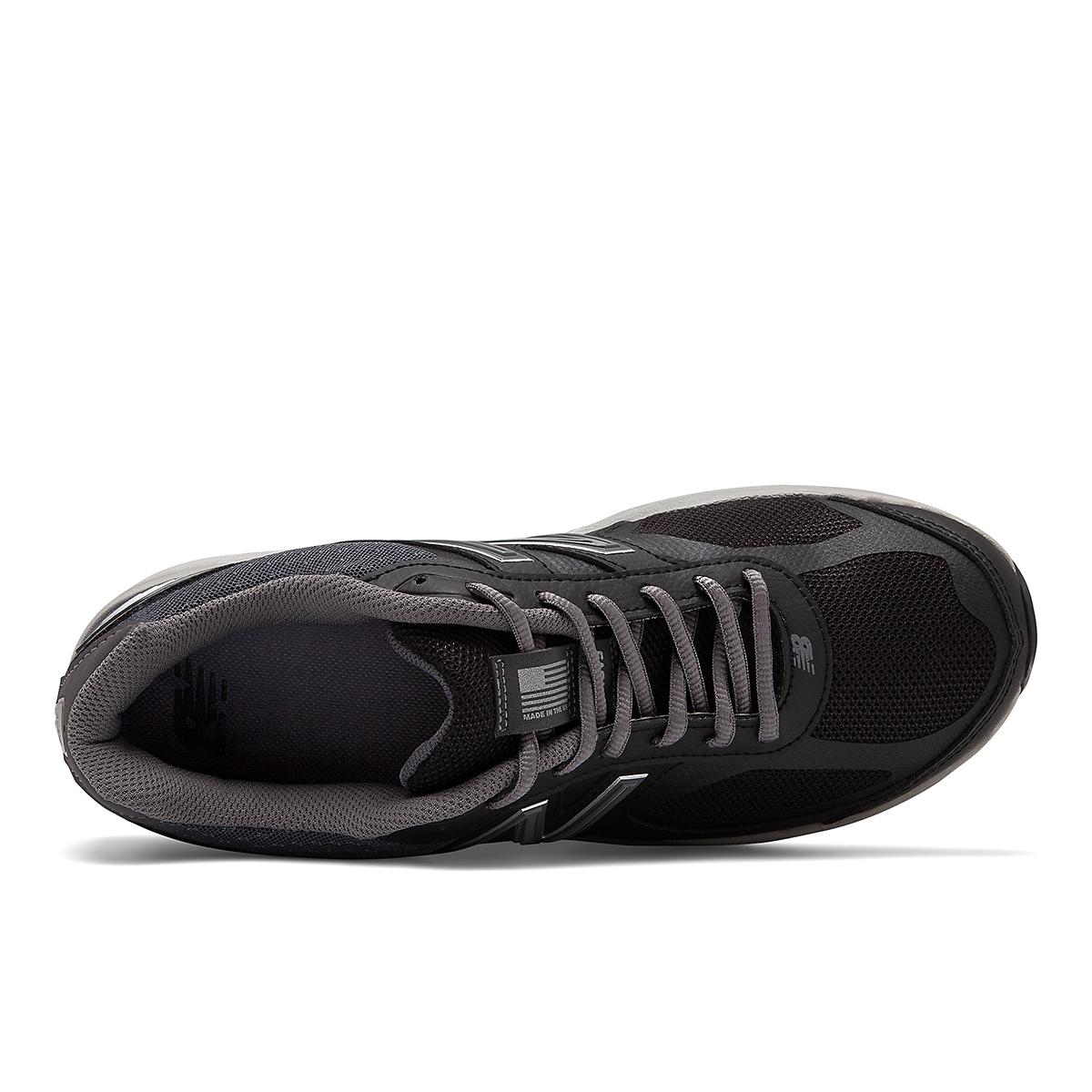 Men's New Balance 1540V3 Walking Shoe - Color: Black - Size: 7 - Width: Wide, Black, large, image 3