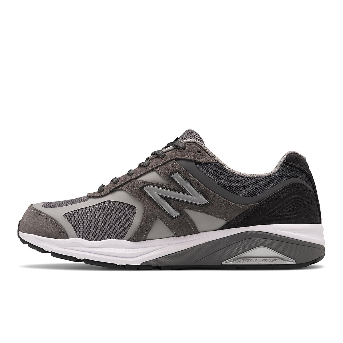 Men's New Balance 1540V3 Walking Shoe - Color: Grey - Size: 7 - Width: Wide, Grey, large, image 2