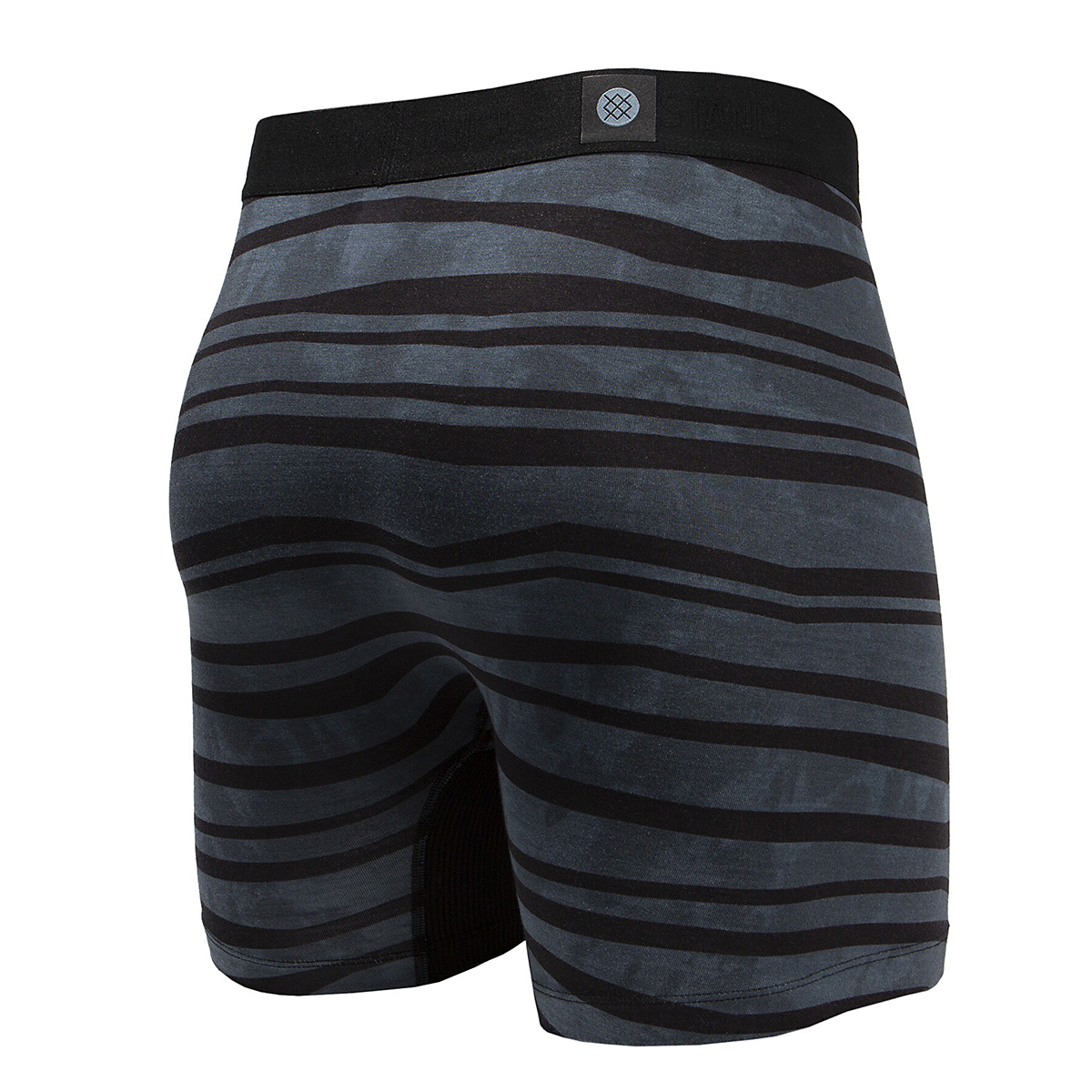Men's Stance Drake Boxer Brief - Color: Charcoal - Size: S, Charcoal, large, image 2