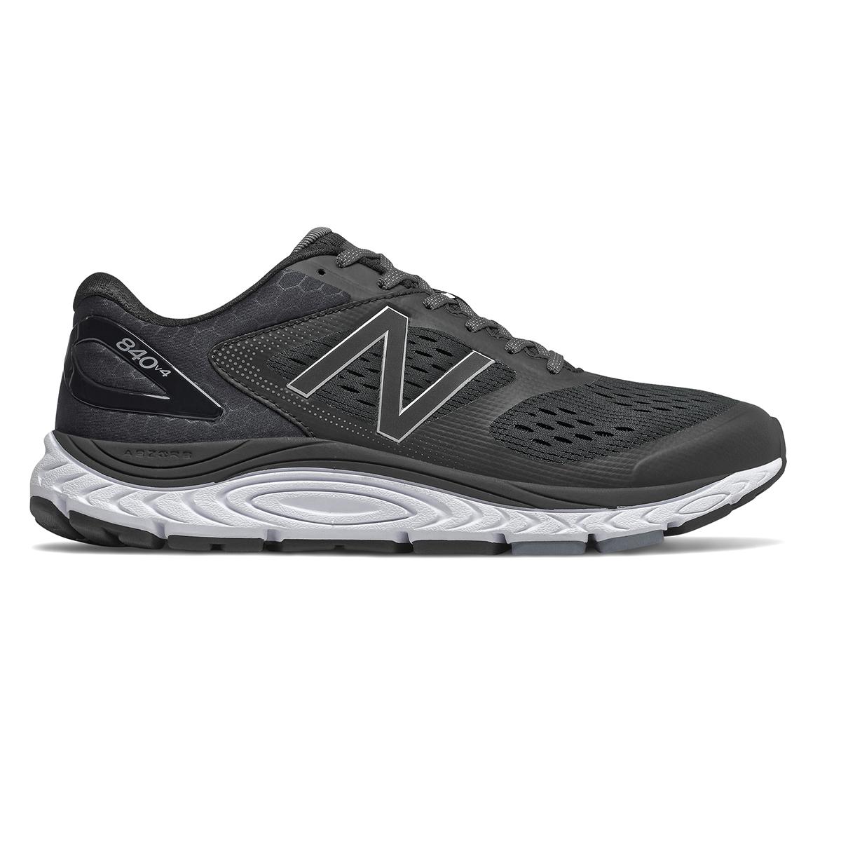 Men's New Balance 840V4 Walking Shoe - Color: Black - Size: 7 - Width: Wide, Black, large, image 1