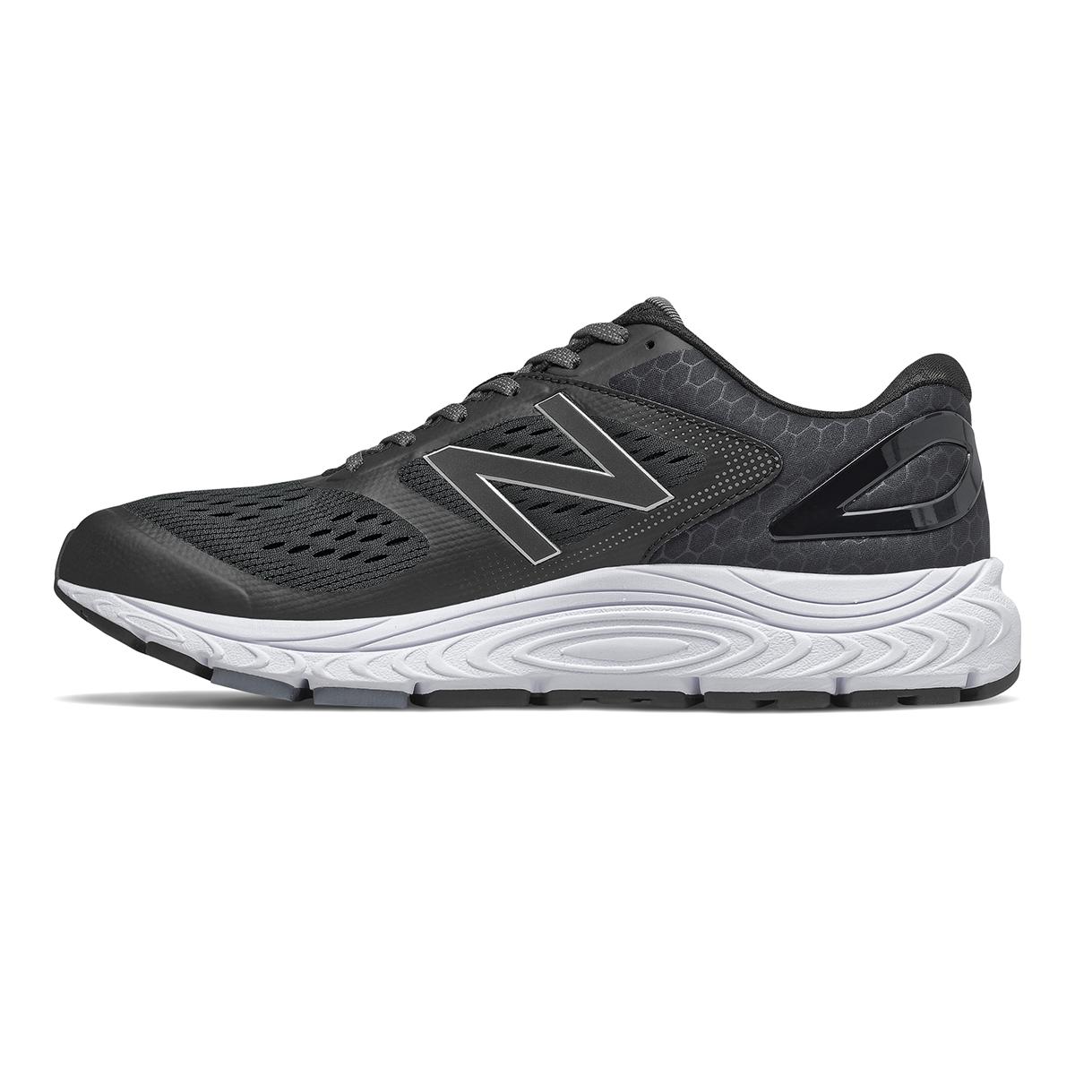 Men's New Balance 840V4 Walking Shoe - Color: Black - Size: 7 - Width: Wide, Black, large, image 2