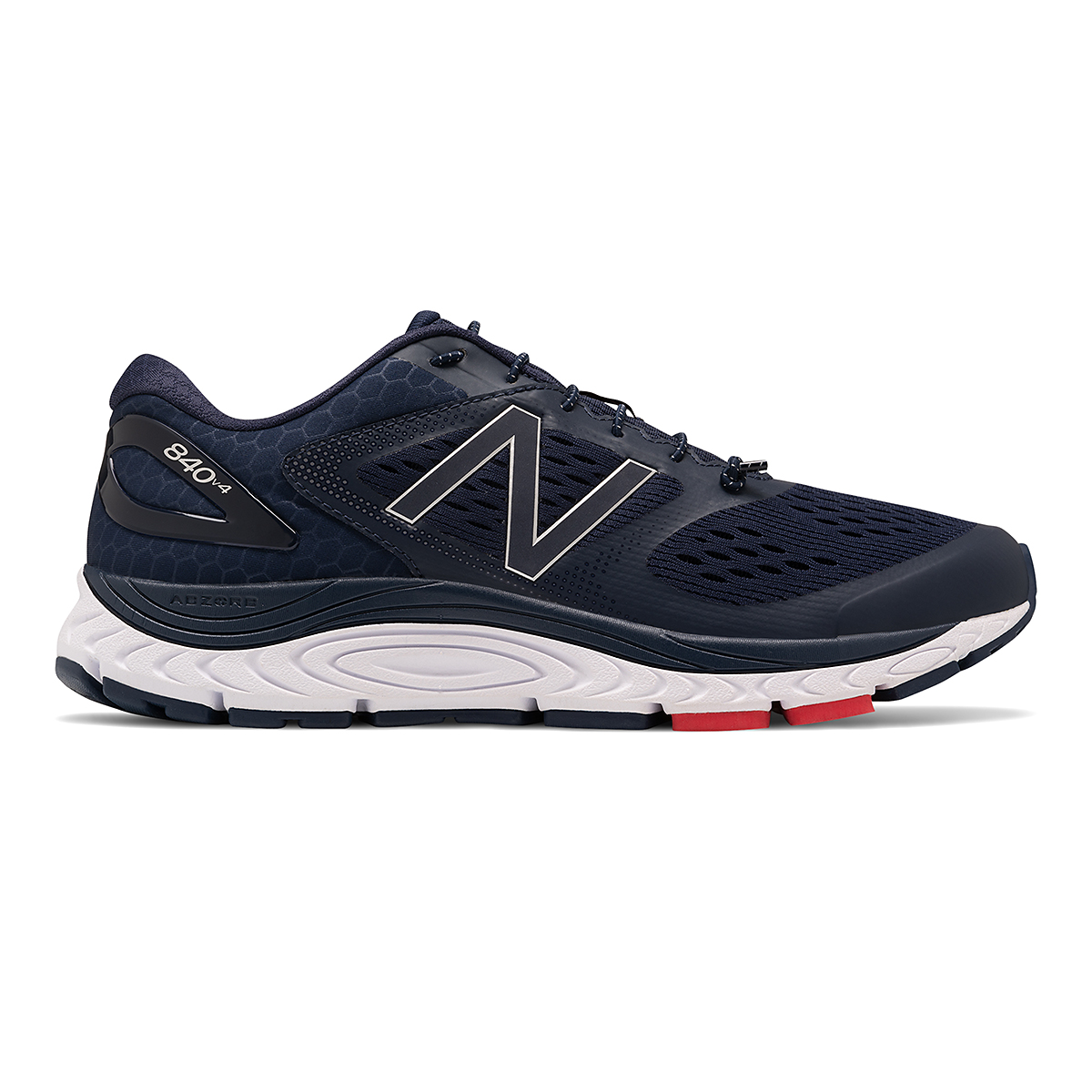 Men's New Balance 840v4 Running Shoe - Color: Pigment/White - Size: 7 - Width: Wide, Pigment/White, large, image 1