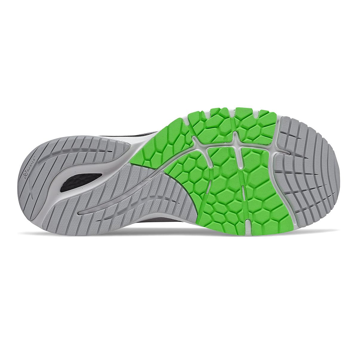 Men's New Balance 860V11 Running Shoe - Color: Light Aluminum/Black - Size: 6 - Width: Wide, Light Aluminum/Black, large, image 4