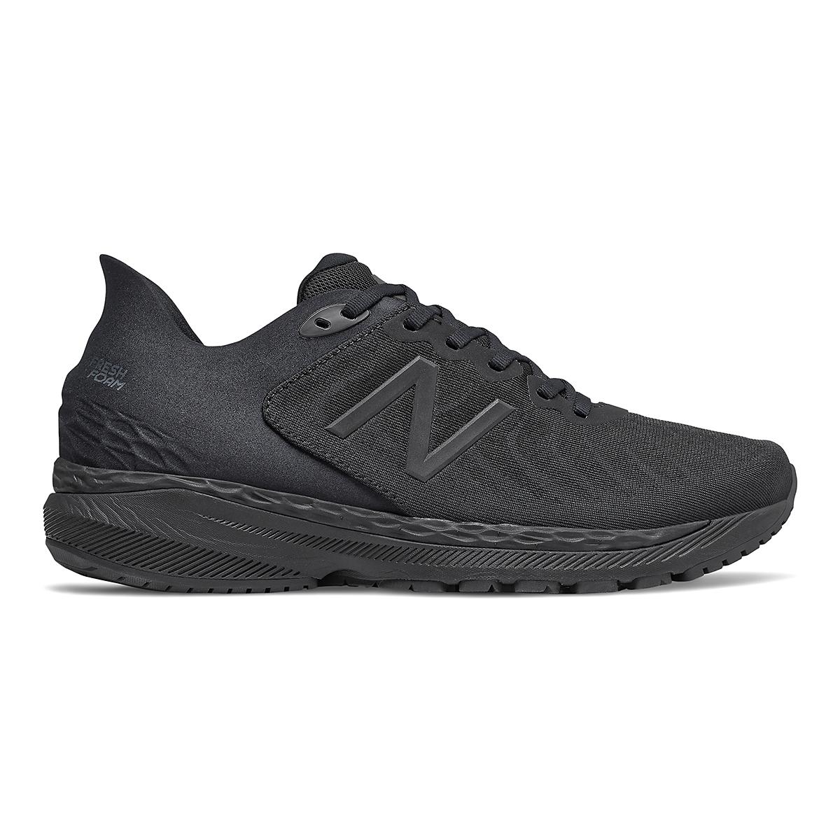 Men's New Balance 860V11 Running Shoe - Color: Black - Size: 8.5 - Width: Regular, Black, large, image 1
