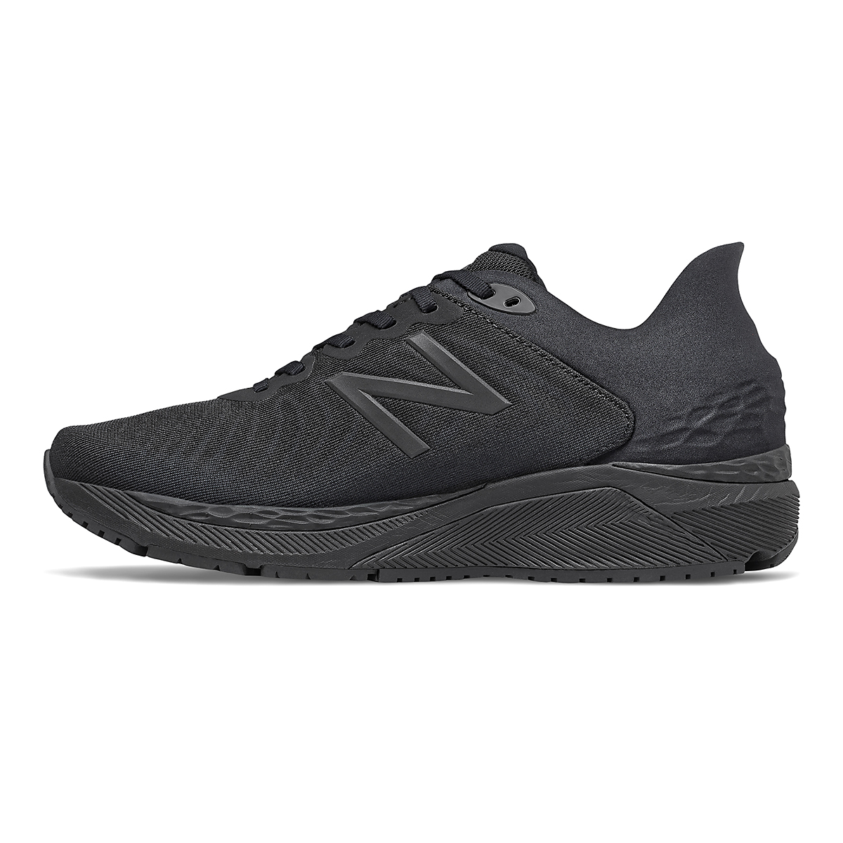 Men's New Balance 860V11 Running Shoe - Color: Black - Size: 8.5 - Width: Regular, Black, large, image 2