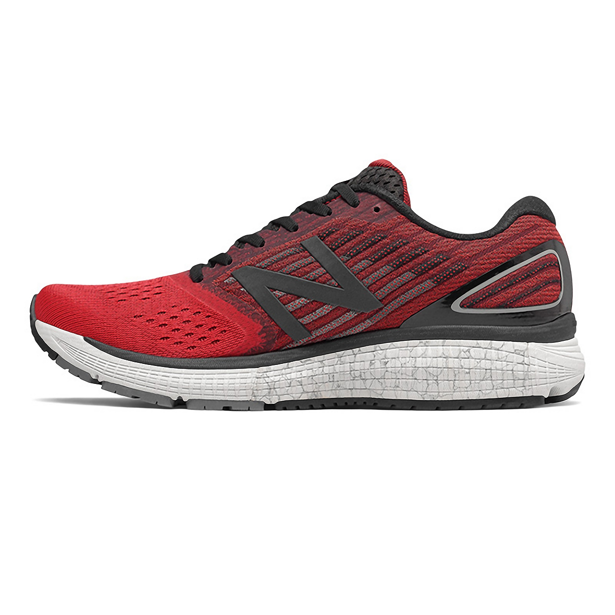 Men's New Balance 860V9 Running Shoe - Color: Team Red - Size: 7 - Width: Wide, Team Red, large, image 2